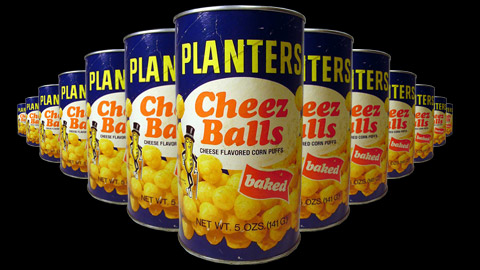 When I was growing up one of my favorite snacks was Planter's Cheez Balls.